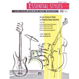 Essential Styles for the Drummer and Bassist Book 1 + CD
