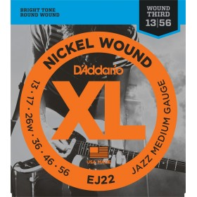 D'ADDARIO EJ22 Jazz Medium 13-56