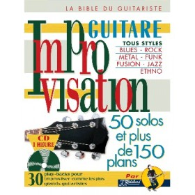Improvisation Guitare + CD