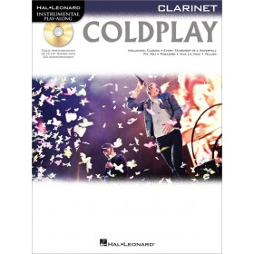 Instrumental Play Along Coldplay Clarinette + CD