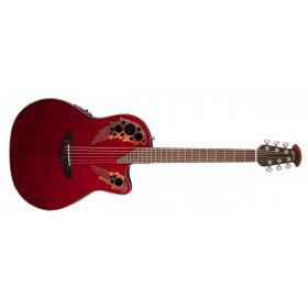 OVATION Celebrity Elite CE44-RR Ruby Red