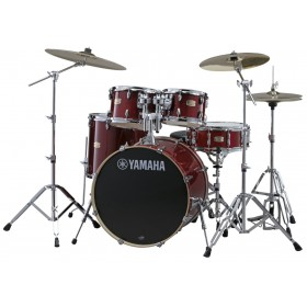 "YAMAHA Stage Custom Birch Stage 22"" Cranberry Red"