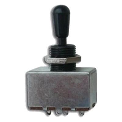 YELLOW PARTS EZ1180B Selecteur de Micro 3 positions Noir