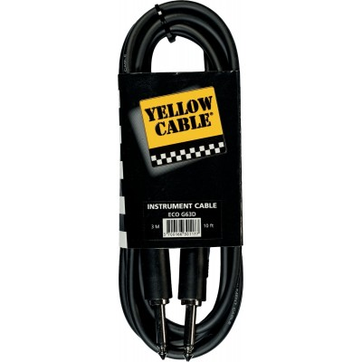 YELLOW CABLE G63D Jack / Jack 3 m