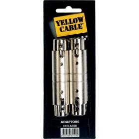 YELLOW CABLE AD28 Adaptateurs XLR Femelle / XLR Femelle