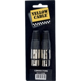 YELLOW CABLE XLR02 Fiches XLR Femelle