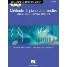 Méthode de Piano pour Adultes Volume 1 + CD