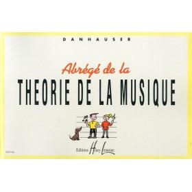 Abrégé de La Théorie de la Musique A. DANHAUSER