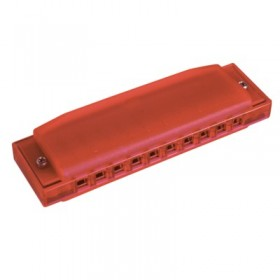 HOHNER Harmonica Happy Color Red