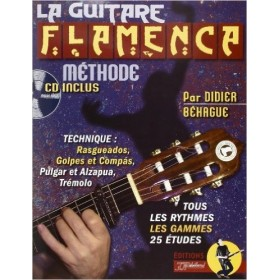 METHODE LA GUITARE FLAMENCA + CD