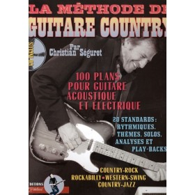 METHODE LA GUITARE COUNTRY + CD