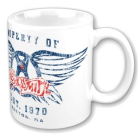 MUG AEROSMITH Property Of Logo