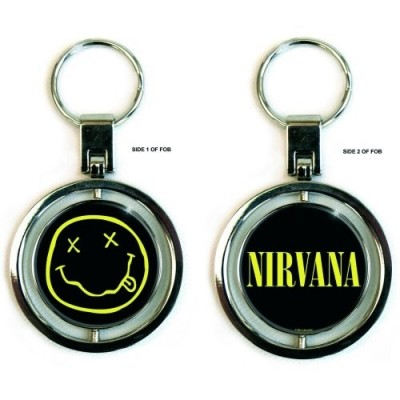 Porte Clé Nirvana Smiley