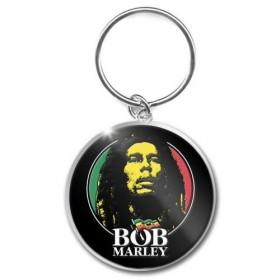 Porte Clé Bob Marley Logo Face