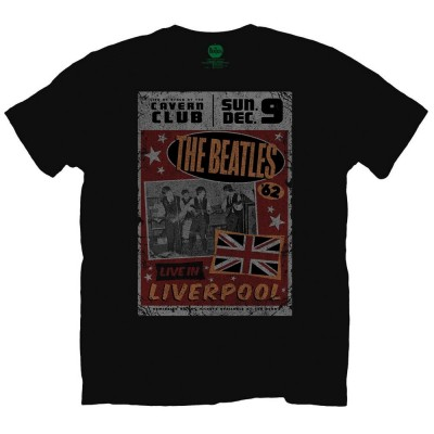 T-Shirt Homme The Beatles Live in Liverpool Mens Taille S