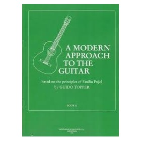 A Modern Approach To The Guitar Vol 2 Guido Topper