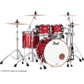 "PEARL Master Maple Complete Fusion 20"" Inferno Red Sparkle"