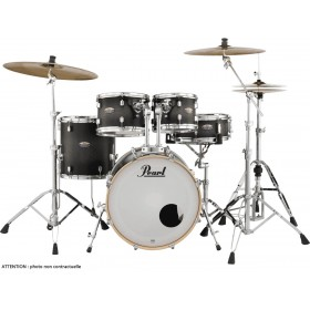 "PEARL DECADE MAPLE Rock 22"" Satin Black Burst"
