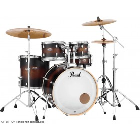"PEARL DECADE MAPLE Rock 22"" Satin Brown Burst"