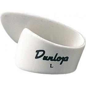 DUNLOP Onglet Pouce BLANC Large