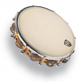 "LP Tambourin Accordable 10"" avec Cymbalettes"