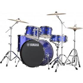 "YAMAHA RYDEEN Stage 22"" Fine Blue + Hardware + Cymbales PAISTE 101"