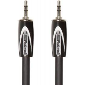 ROLAND CABLE BLACK SERIES Mini Jack Stéréo /Mini Jack Stéréo 1,5 m