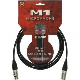 KLOTZ M1 CABLE XLR Mâle / XLR Femelle Neutrik 20 M Noir