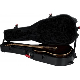GATOR ETUI POLYETHYLENE GUITARE ACOUSTIQUE DREADNOUGHT
