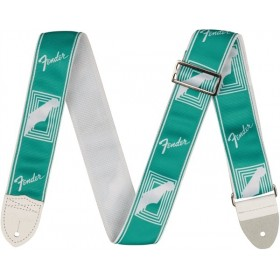 FENDER Sangle Monogrammed Sea Foam Green