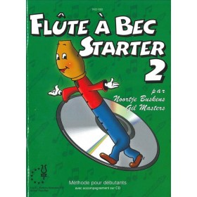 Flute A Bec Starter Volume 2 + CD