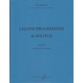 30 Leçons Progressive de Solfège Volume 1 Alain Grimoin