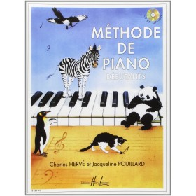 METHODE DE PIANO DEBUTANTS PAR HERVE / POUILLARD