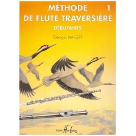 Méthode de Flûte Traversière Débutants Vol 1 G.Lambert