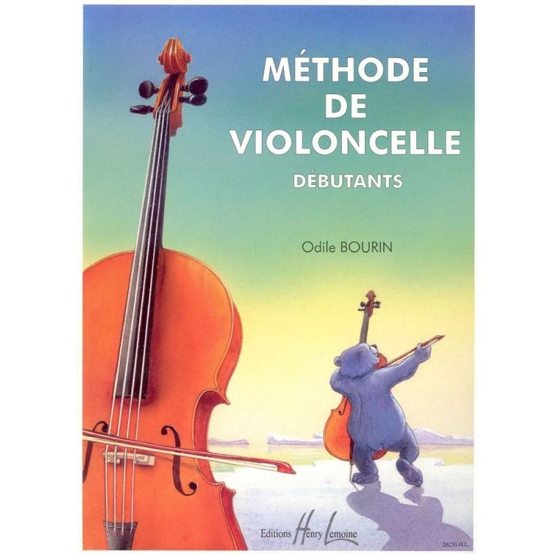 Méthode de Violoncelle Débutant Odile Bourin