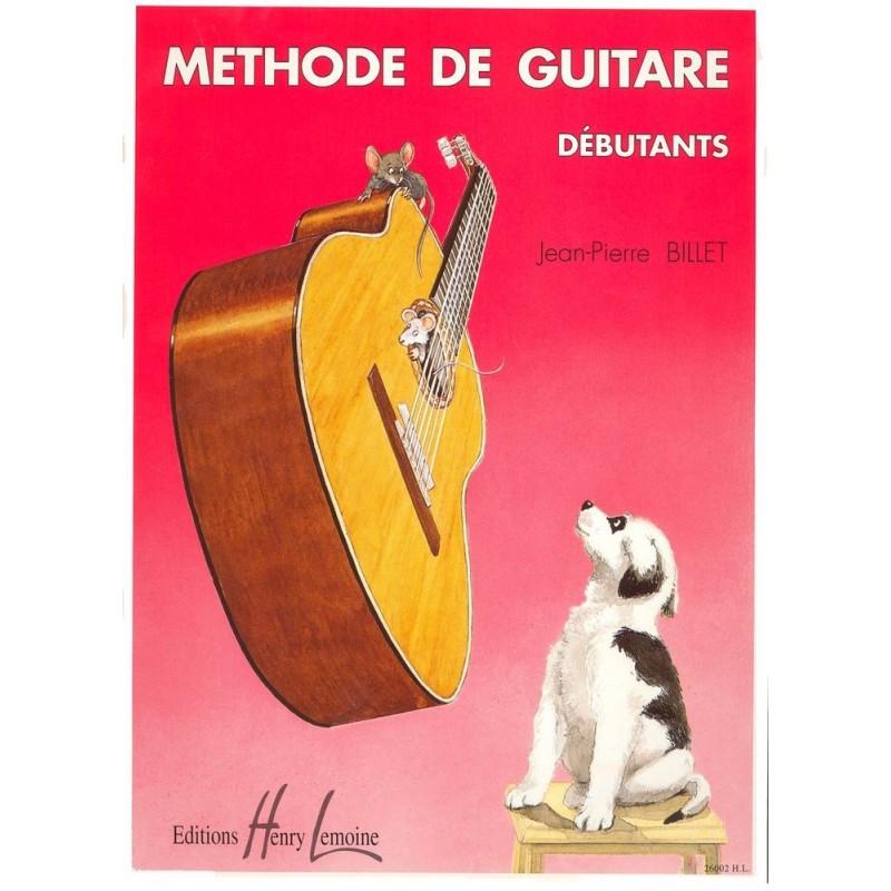 Méthode De Guitare Débutant Jean-Pierre BILLET