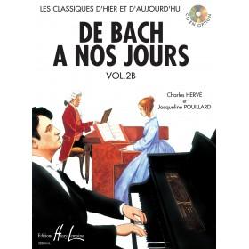 De Bach A Nos Jours Volume 2B HERVE / POUILLARD