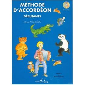 Méthode d'Accordéon Débutants Manu Maugain