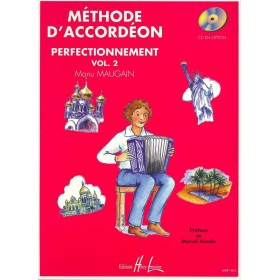 Méthode d'Accordéon Perfectionnement Volume 2