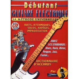 METHODE DEBUTANT GUITARE ELECTRIQUE + CD REBILLARD