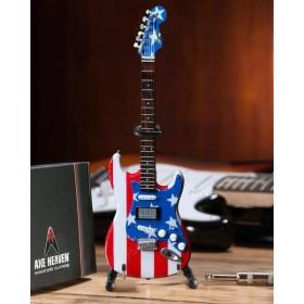Guitare Miniature FENDER Stratocaster Stars & Stripes USA Wayne Kramer