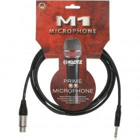 KLOTZ M1 CABLE MICROPHONE XLR Femelle / Jack Stéréo 3 M
