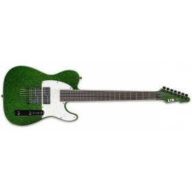 ESP LTD SCT-607 BARITONE GREEN SPARKLE Stephen Carpenter