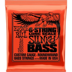 ERNIE BALL 2838 SLINKY BASS 6 32-130