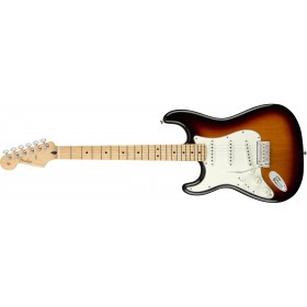 FENDER Player Stratocaster 3-Color Sunburst Maple Gaucher