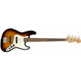 FENDER Player Jazz Bass Fretless 3 Color Suburst Pau Ferro