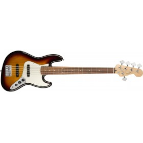 FENDER Player Jazz Bass V 3 Color Sunburst Pau Ferro