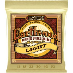 ERNIE BALL EARTHWOOD LIGHT 11-52