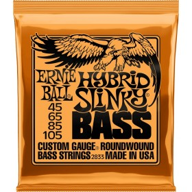 ERNIE BALL HYBRID SLINKY BASS 45-105