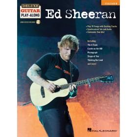 Deluxe Guitar Play Along Ed Sheeran Volume 9